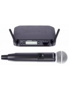 SHURE GLXD/SM58 Microfone Emissor FReq Digital