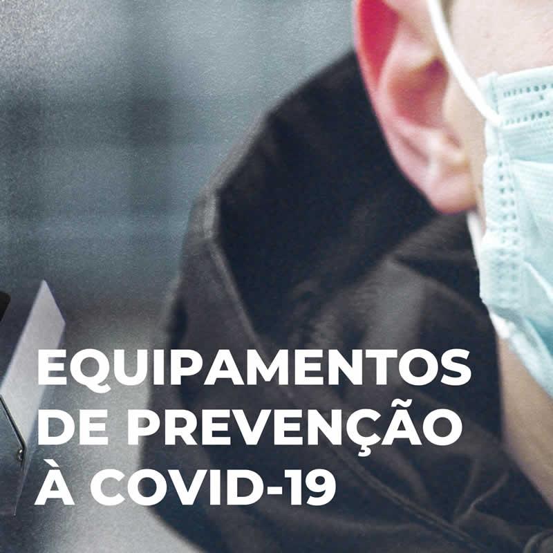 Equipamentos de proteção à COVID-19