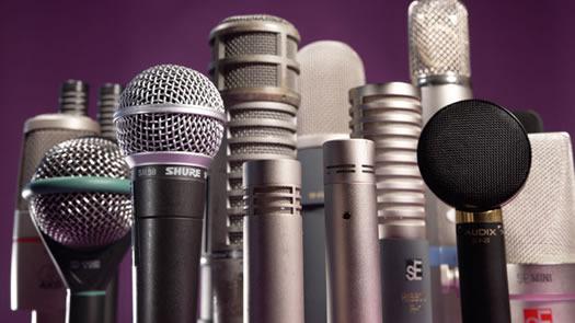 Microfones e captação do som nos estúdios (1)